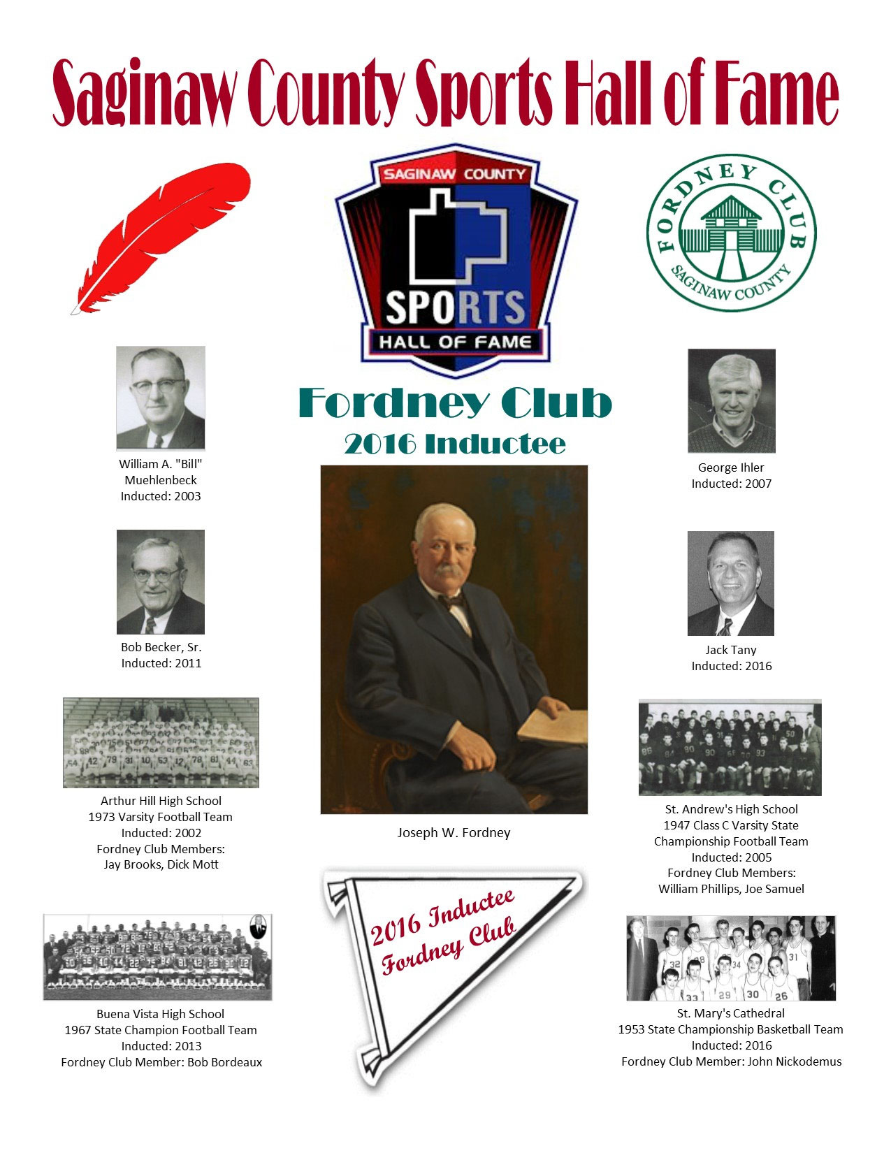Saginaw County Sports Hall of Fame
